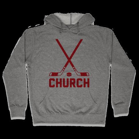 Hockey Church Hooded Sweatshirt