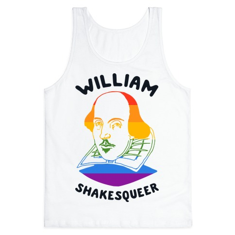 William ShakesQueer Tank Top