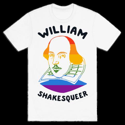 William ShakesQueer Mens T-Shirt