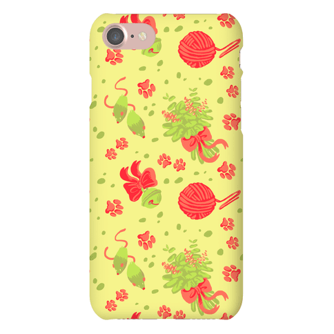 Catnip Kitty Cat Pattern Phone Case