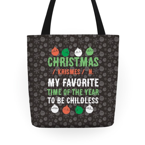 Christmas Definition Tote