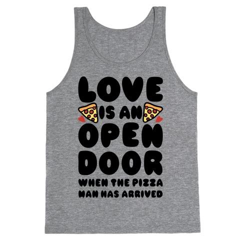 Love Is An Open Door Tank Top