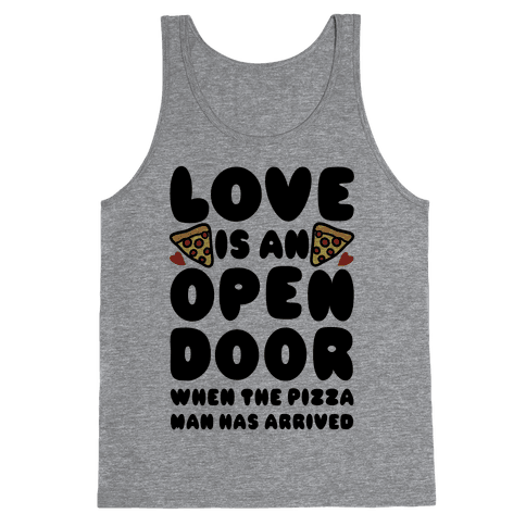 Love Is An Open Door Tank Top