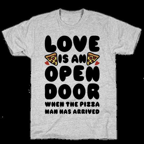 Love Is An Open Door Mens T-Shirt