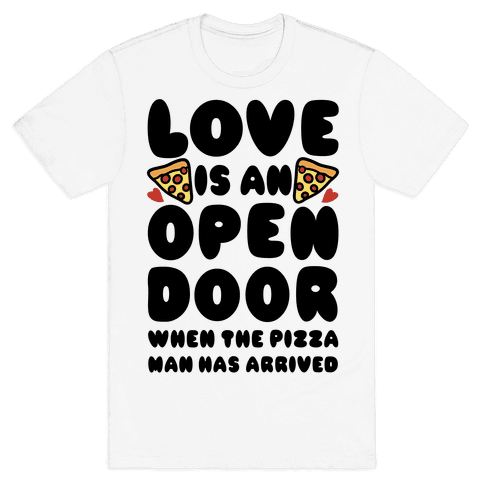 Love Is An Open Door Mens T-Shirt