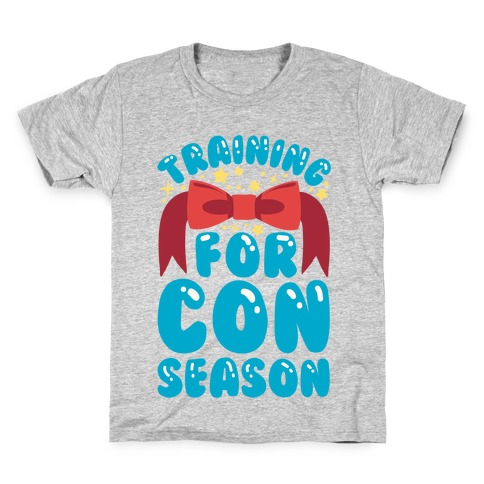 Training For Con Season Kids T-Shirt