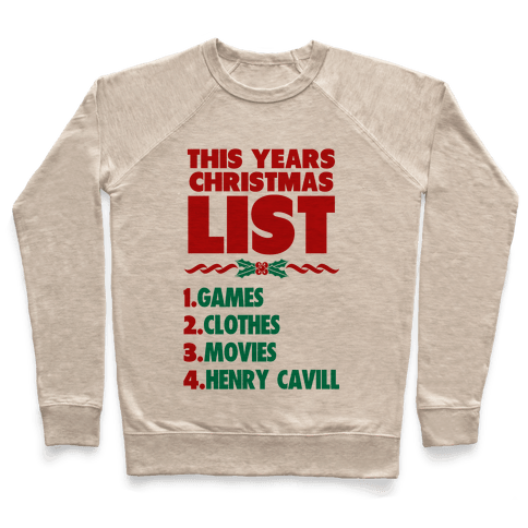 Henry is on my List Pullover