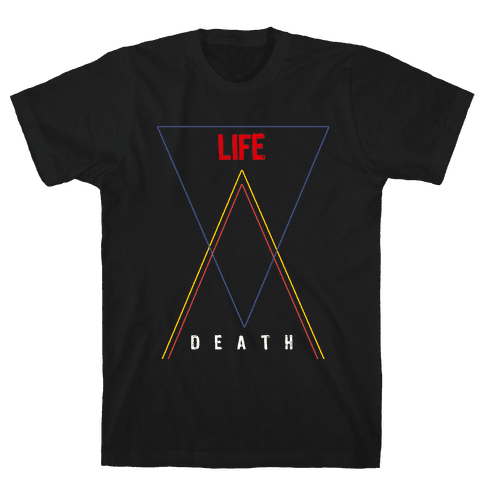 Life Vs Death Mens T-Shirt