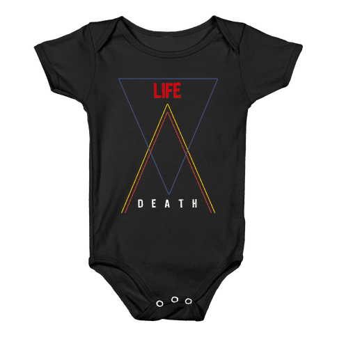 Life Vs Death Baby Onesy