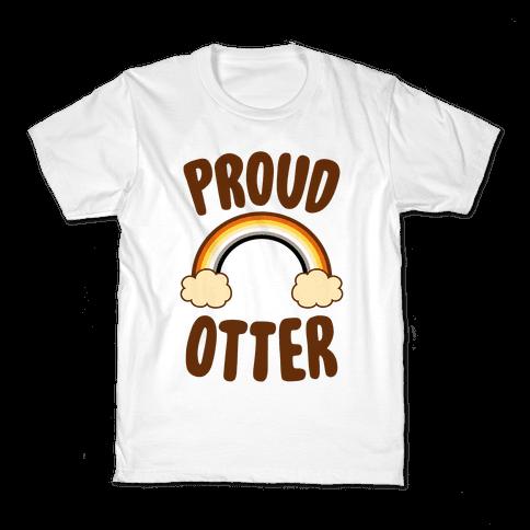Proud Otter Kids T-Shirt