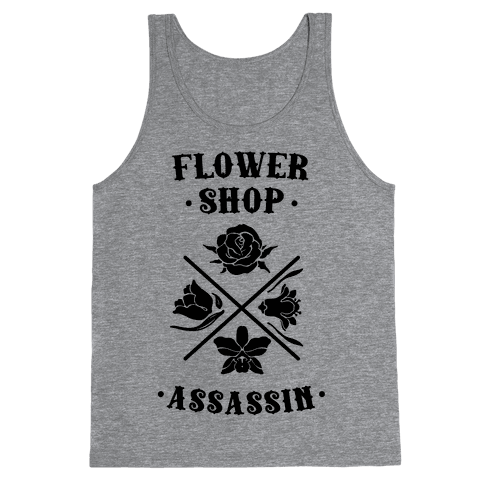 Flower Shop Assassin Tank Top