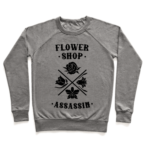 Flower Shop Assassin Pullover