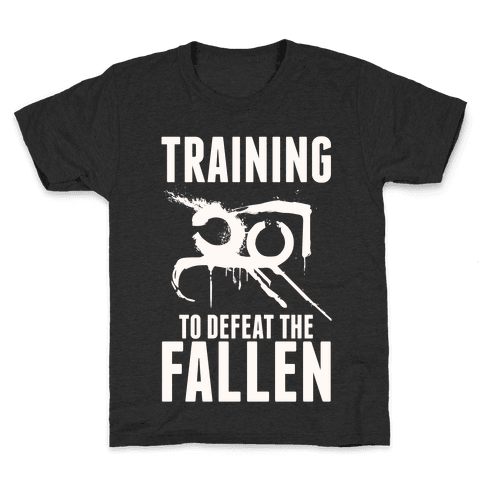 Training To Defeat The Fallen Kids T-Shirt