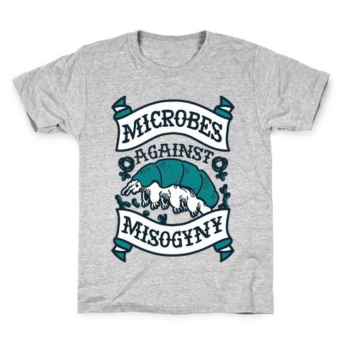 Microbes Against Misogyny Kids T-Shirt