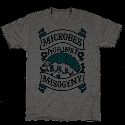 Microbes Against Misogyny Mens T-Shirt