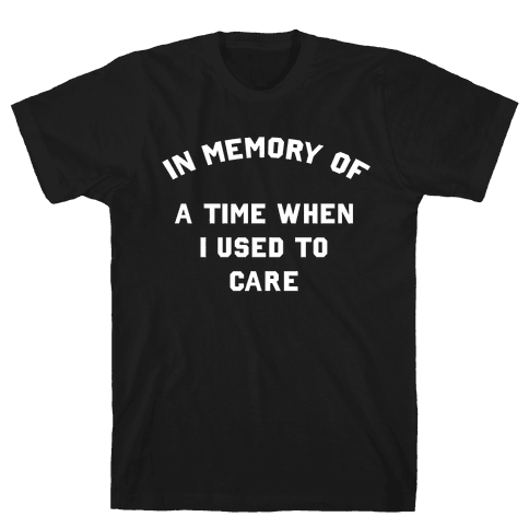 In Memory of... Mens T-Shirt
