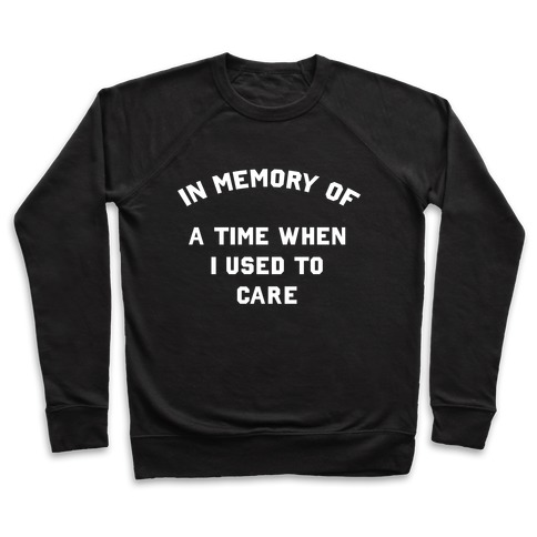 In Memory of... Pullover