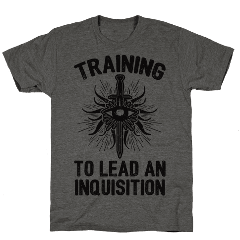 Training To Lead An Inquisition