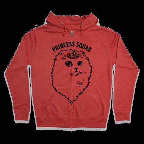 Princess Squad Zip Hoodie