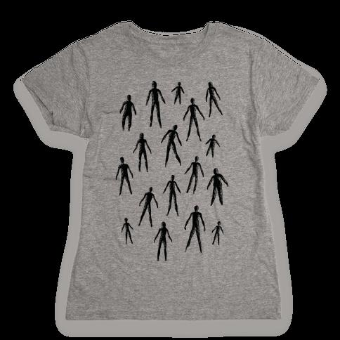 Amigara Fault Part One Womens T-Shirt
