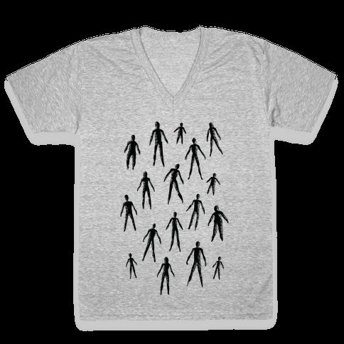 Amigara Fault Part One V-Neck Tee Shirt