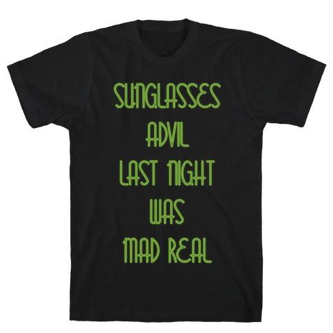 Sunglasses and Advil T-Shirt
