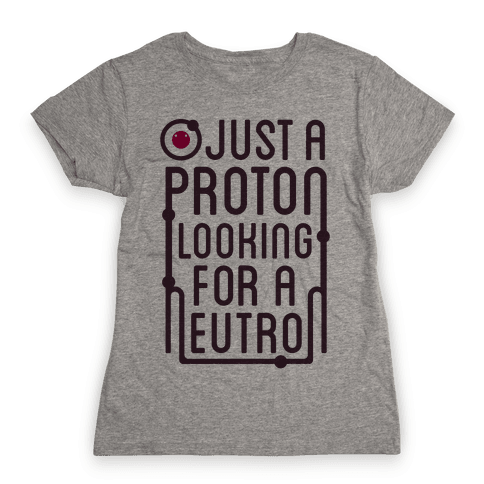 Just A Proton (Type Tank) Womens T-Shirt