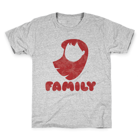 Ohana Means Family (family Half) Kids T-Shirt