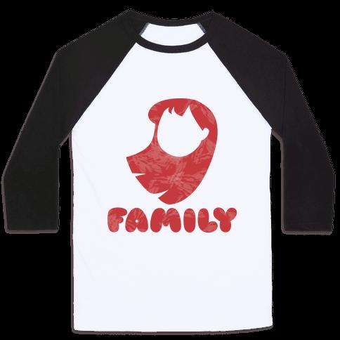 Ohana Means Family (family Half) Baseball Tee