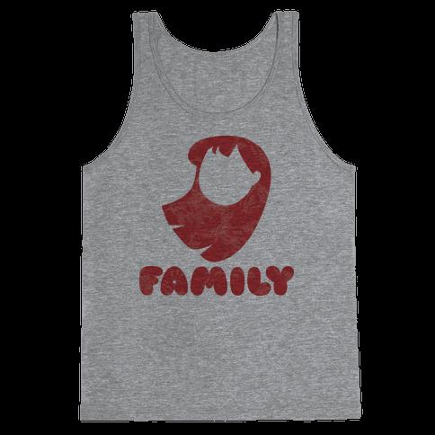 Ohana Means Family (family Half) Tank Top