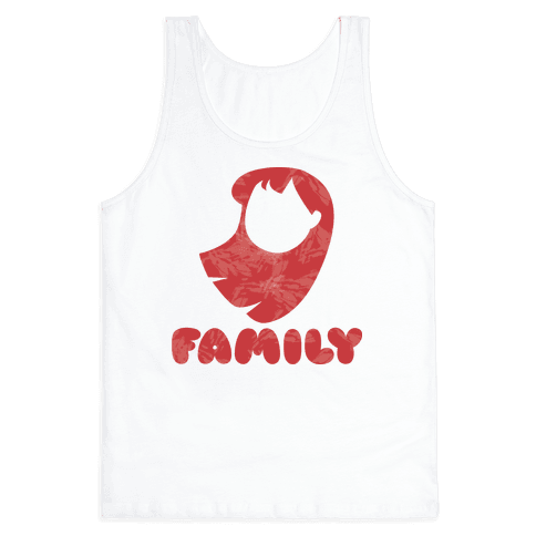 Ohana Means Family (family Half) Tank Top