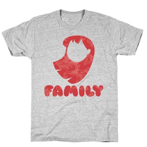 Ohana Means Family (family Half) T-Shirt