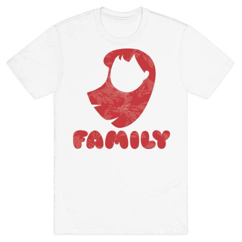 Ohana Means Family (family Half) Mens T-Shirt