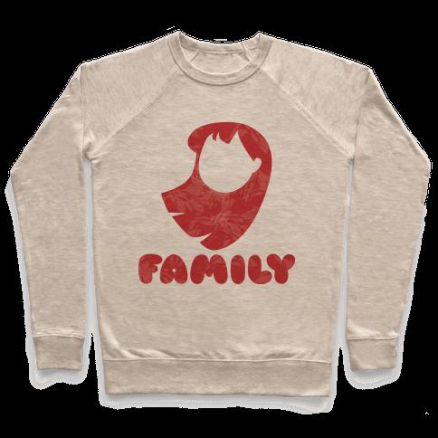 Ohana Means Family (family Half) Pullover