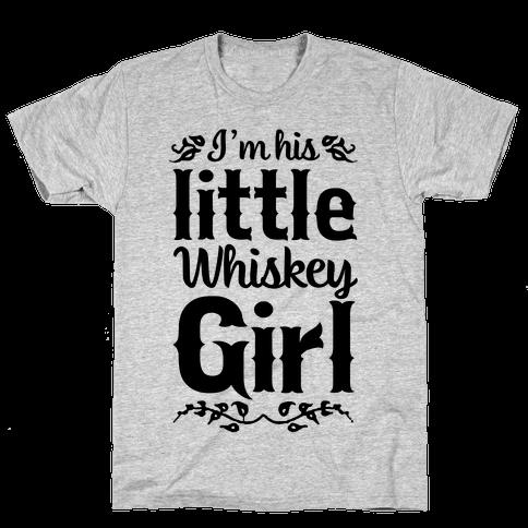 Little Whiskey Girl Mens T-Shirt