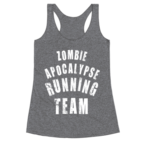 Zombie Apocalypse Running Team (White Ink)