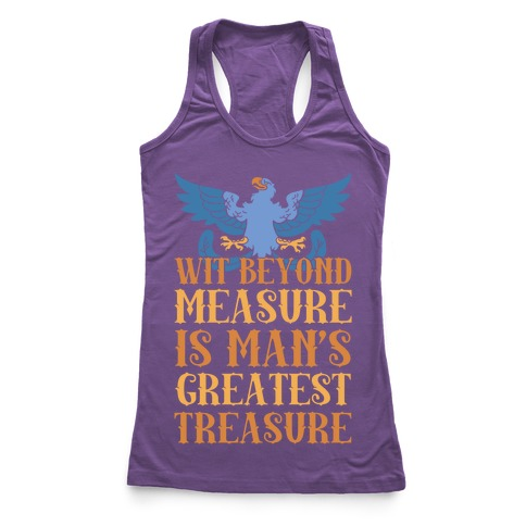 Ravenclaw Motto Racerback Tank Top