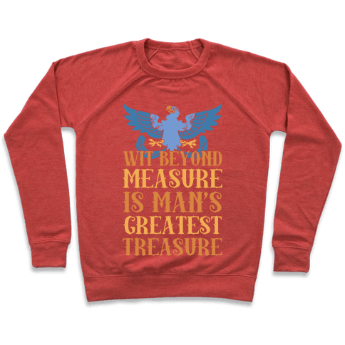 Ravenclaw Motto Pullover