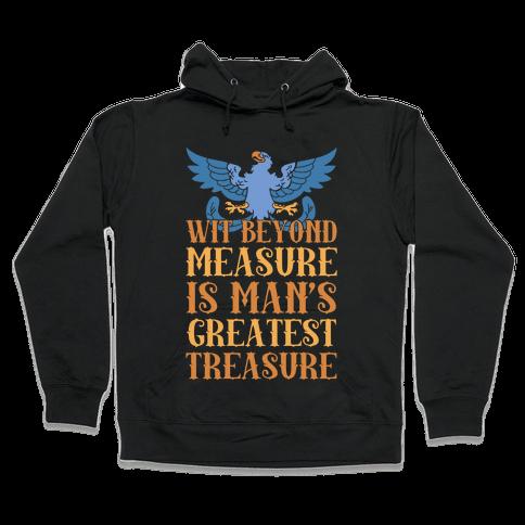 Ravenclaw Motto Hooded Sweatshirt