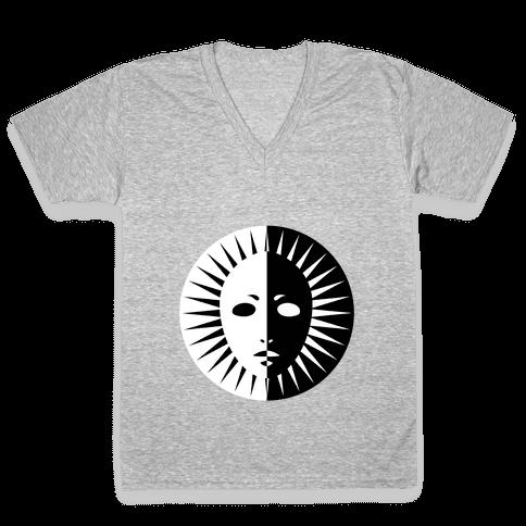 Persona Arcana V-Neck Tee Shirt