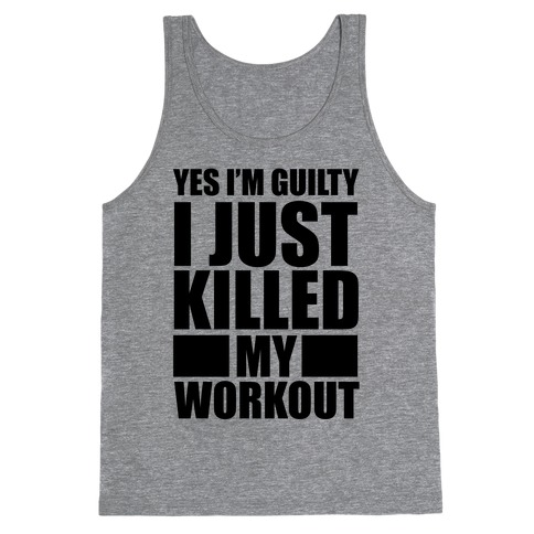 Guilty as Charged Tank Top