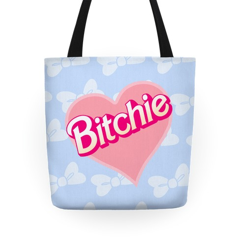 Bitchie (Bows) Tote