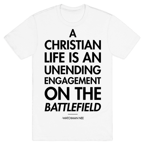 """Christian Life"" Watchman Nee Mens T-Shirt"