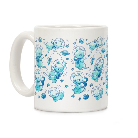 Bunnies In Space Coffee Mug