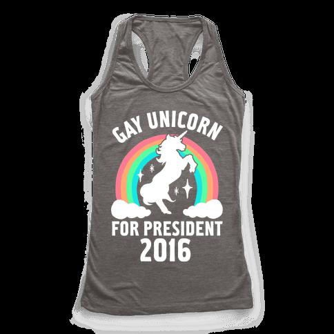 Gay Unicorn For President 2016