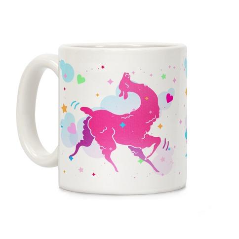 Cute Llama Coffee Mug