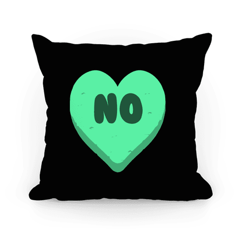 Valentine's Day Heart No Pillow Pillow