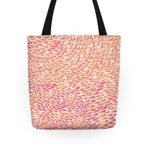 Watercolor Flower Petals Tote