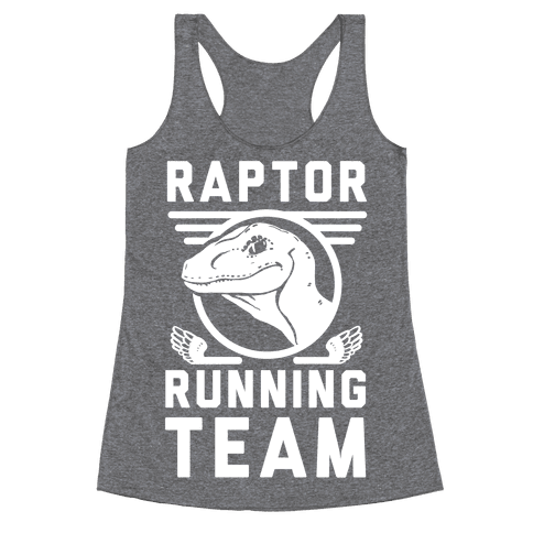 Raptor Running Team Racerback Tank Top