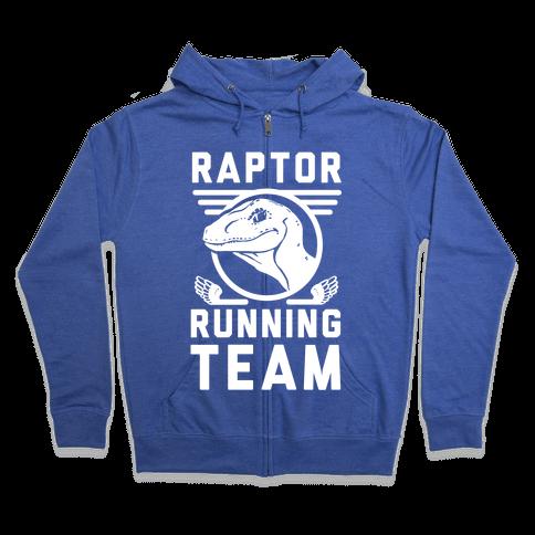 Raptor Running Team Zip Hoodie
